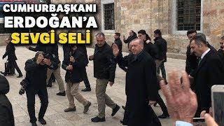 Ulucami'de Cumhurbaşkanı Erdoğan'a Sevgi Seli