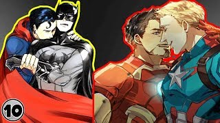 Top 10 Superhero Couples We Wish Existed