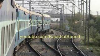 Stunning high speed train-My journy by Train - Indian Railway Railways