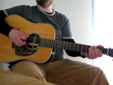 Guitar Lesson - Goodnight Irene by Lead Belly