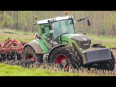 Fendt 936 & John Deere 6R Traktor | Am Limit im Moor | Gülle Ausbringung | AgrartechnikHD