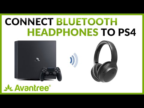 Connect Your Bluetooth Headphones To Playstation 4 Ps4 Console Youtube