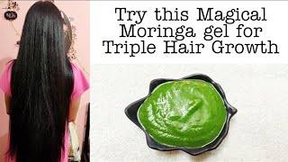 DIY Moringa(முருங்கை கீரை) Gel for Hair Growth in Tamil | Vini's Hair Care