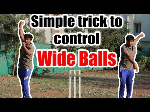 How to control wide ball? | Cricket Bowling Tips | Nothing But Cricket