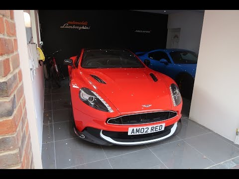 ASTON MARTIN RED ARROW DELIVERY 1 OF 10 IN WORLD!