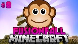 Die AFFEN des TODES?! - Minecraft Fusionfall #008 [Deutsch/HD]