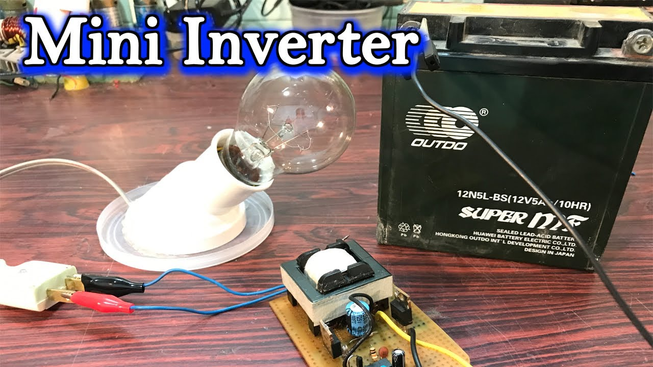 How To Make Mini Inverter From Dc 12v 230v With Ka3525 Youtube 100w Circuit Pcb Design