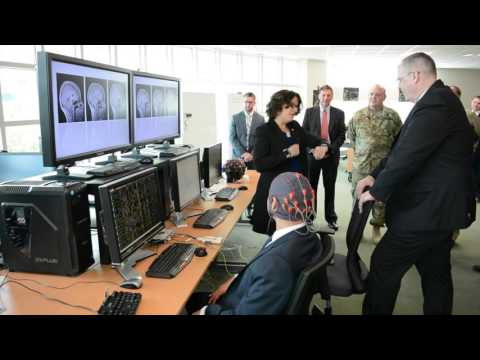 Scientists showcase advanced Army tech for DOD deputy secretary