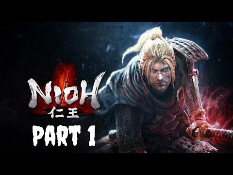 Nioh   PS4 Gameplay   Live Stream   Part 1