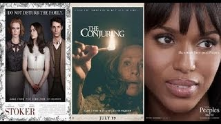 Trailer Thursdays: Stoker, The Conjuring, The Peeples