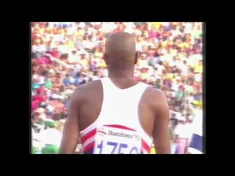 3989 Olympic Track & Field 1992 Long Jump Men Mike Powell