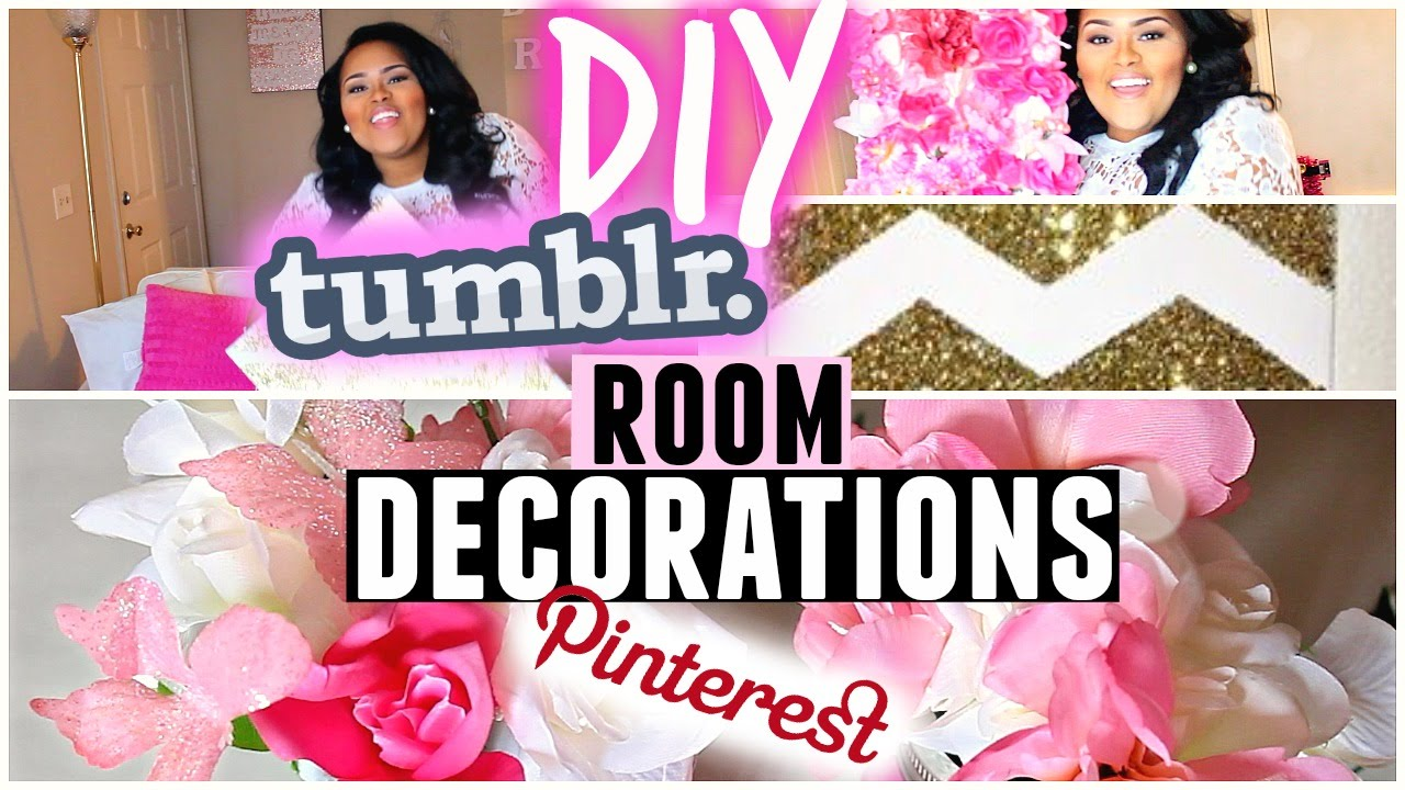 ♡diy cute, girly & affordable room decor♡ tumblr + pinterest