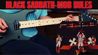 How To Play Mob Rules by Black Sabbath on Guitar