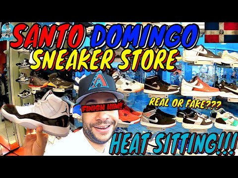 SANTO DOMINGO SNEAKER STORE VLOG | REAL OR FAKE HEAT SITTING FOR RETAIL IN DOMINICAN REPUBLIC