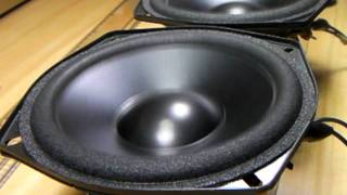 test PHILIPS Speaker unit PSS 297 57406 13cm (Bass I Love You)