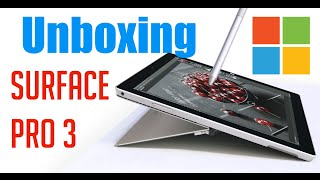 Surface Pro 3 Unboxing & Setup