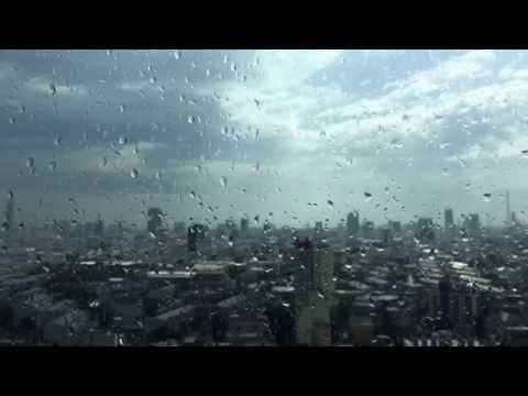 Rain in Bangkok Timelapse