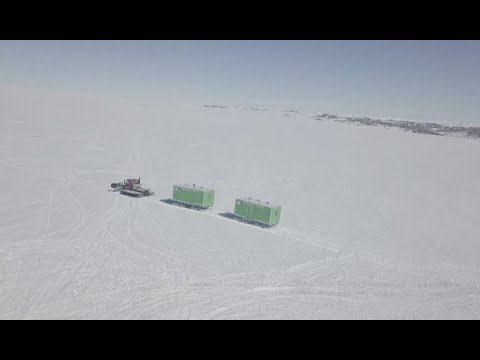 China's First Self-developed Ice Rover Tested Reliable in Antarctica