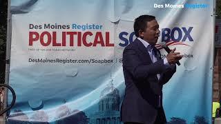 Democrat Andrew Yang on the Register's Political Soapbox | Iowa State Fair 2019 (4/23)