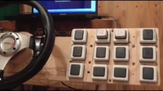 самодельный симулятор грузовика ETS 2: 2 часть.