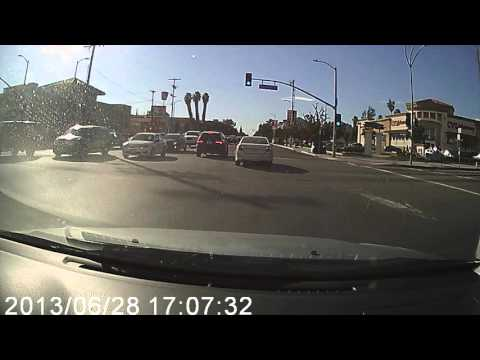 Driving around Los Angeles: Van Nuys 10/28/2015