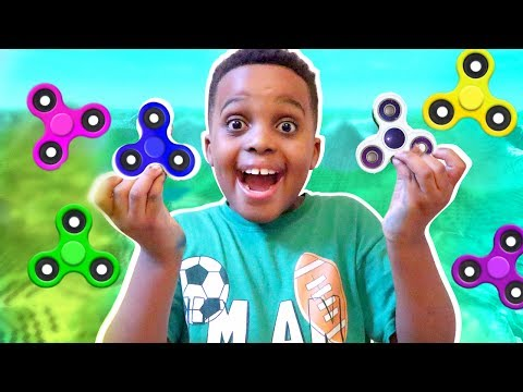 FIDGET SPINNER APP GAMES!!! - Free Fidget Spinner Gameplay