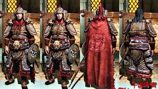 Skyrim mod: Доспехи и оружие китайского генерала