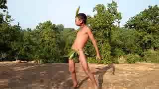 Funny Boy Dance In Village