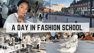 Come To Uni With Me! FASHION STUDENT, Drawing Class, Some Life Advice |  Vlog 002 | C NICOLE