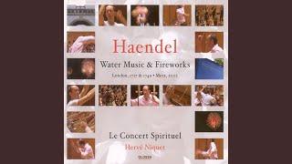 Water Music: Suite No. 3 in G Major, HWV 350: III. Menuet I-II