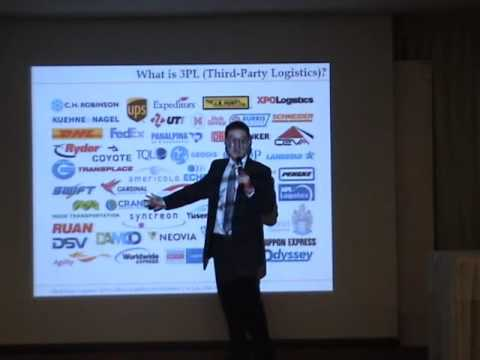 " 59LSC07 การบรรยายหัวข้อ ""Third-Party Logistics กับการเปลี่ยนแปลงสู่อิเล็กทรอนิกส์โลจิสติกส์""1/3"