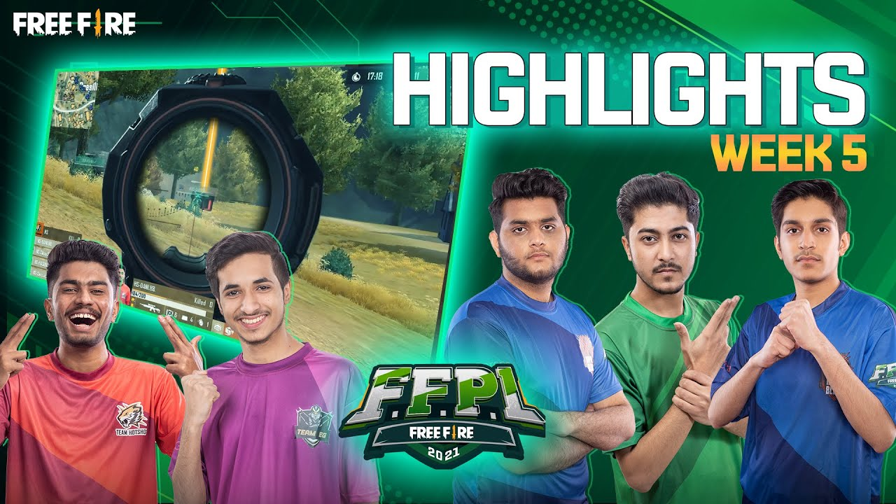 HOB Storms into the finals - Highlights FFPL Week 5 | Free Fire Pakistan League 2021