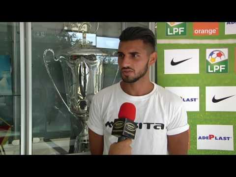Interviu Davide Petrucci, CFR Cluj, despre noul sezon competitional 2016-2017