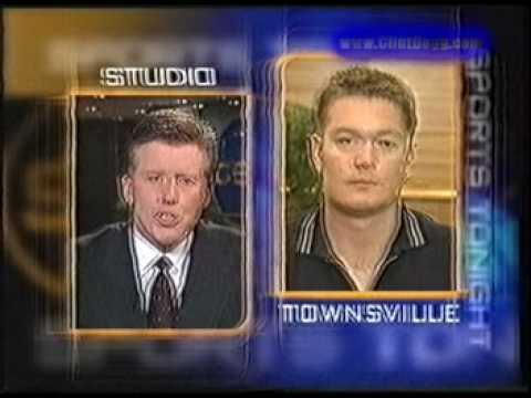 Luc Longley - Australian Boomers TEN News Report (1999)