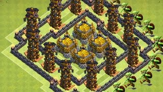 Clash of Clans - Th10 Farming Base New Update 275 walls