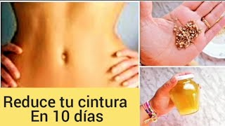 Como perder grasa localizada y reducir cintura en 10 días.