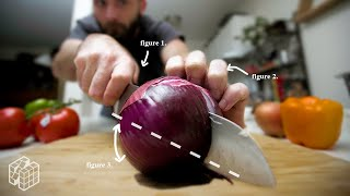 I tried to MASTER Basic Knife Skills in 1 Day | One Day Skills