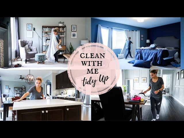 CLEAN WITH ME | WEEKLY TIDY UP | Nesting Story