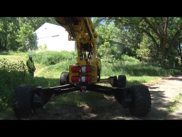 Easy to Use | Mini-Jarraff Rear Lot Trimmer