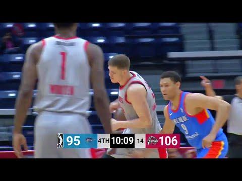 Isaiah Hartenstein Posts 16 points & 13 rebounds vs. Oklahoma City Blue