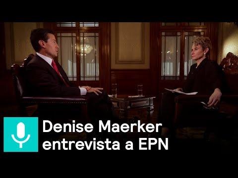 En Exclusiva: Enrique Peña Nieto en entrevista con Denise Maerker