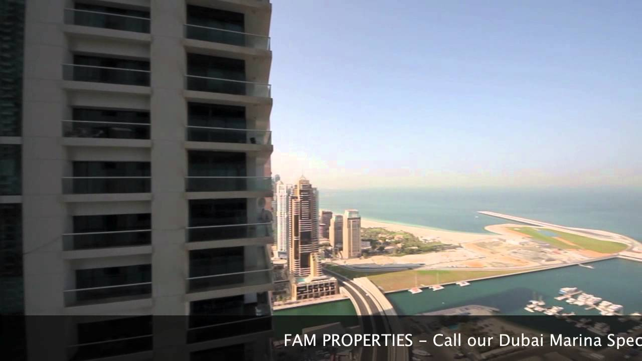 Princess Tower Dubai Marina 3 Bedroom Apartment For Rent