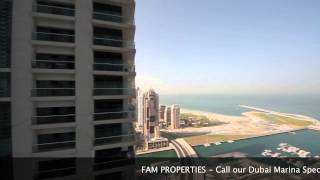 Princess Tower, Dubai Marina - 3 Bedroom Apartment for Rent