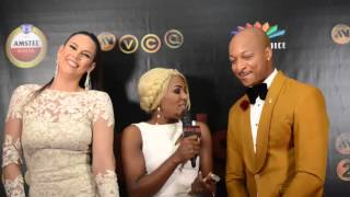 IK Ogbonna And Wife Sonia Get Intimate At AMVCA 2016  Pulse TV