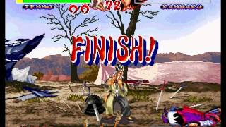 Ninja Master's: Haō Ninpō Chō Tenho Combo 100%