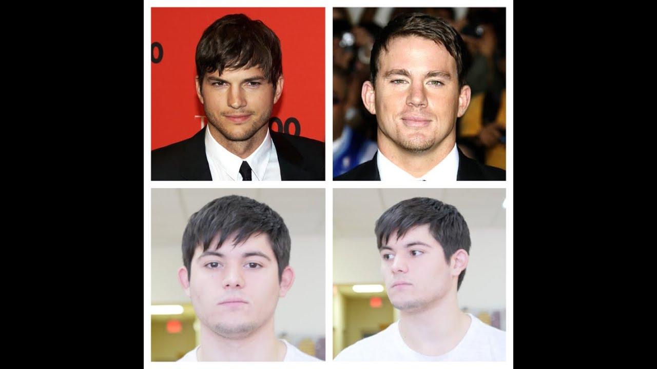 Ashton Kutcher Channing Tatum Look Alike Haircut Tutorial