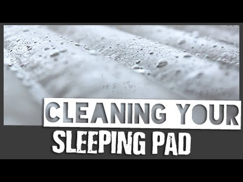 Cleaning Your Sleeping Pad // Backpacking Gear