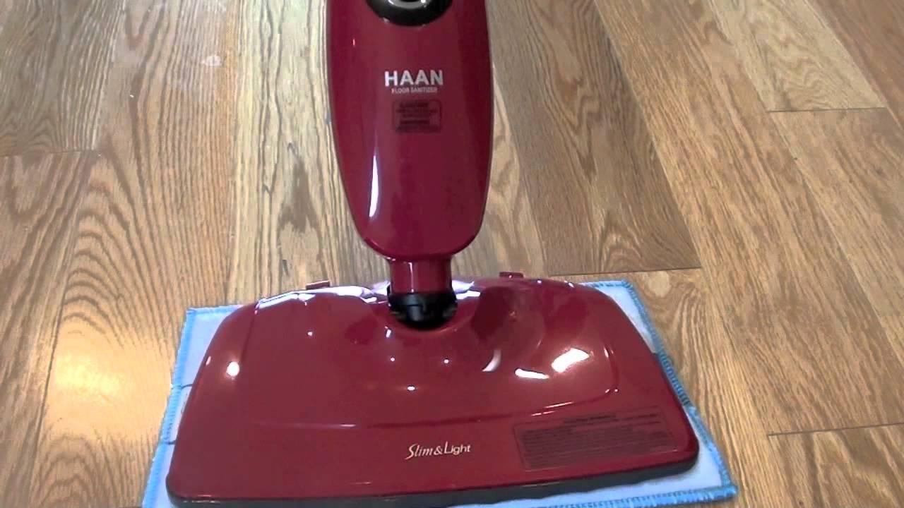Haan SI35 Steam Mop Review  The Slim  Light Floor