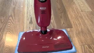 haan si 35 steam mop review the slim light floor sanitizer