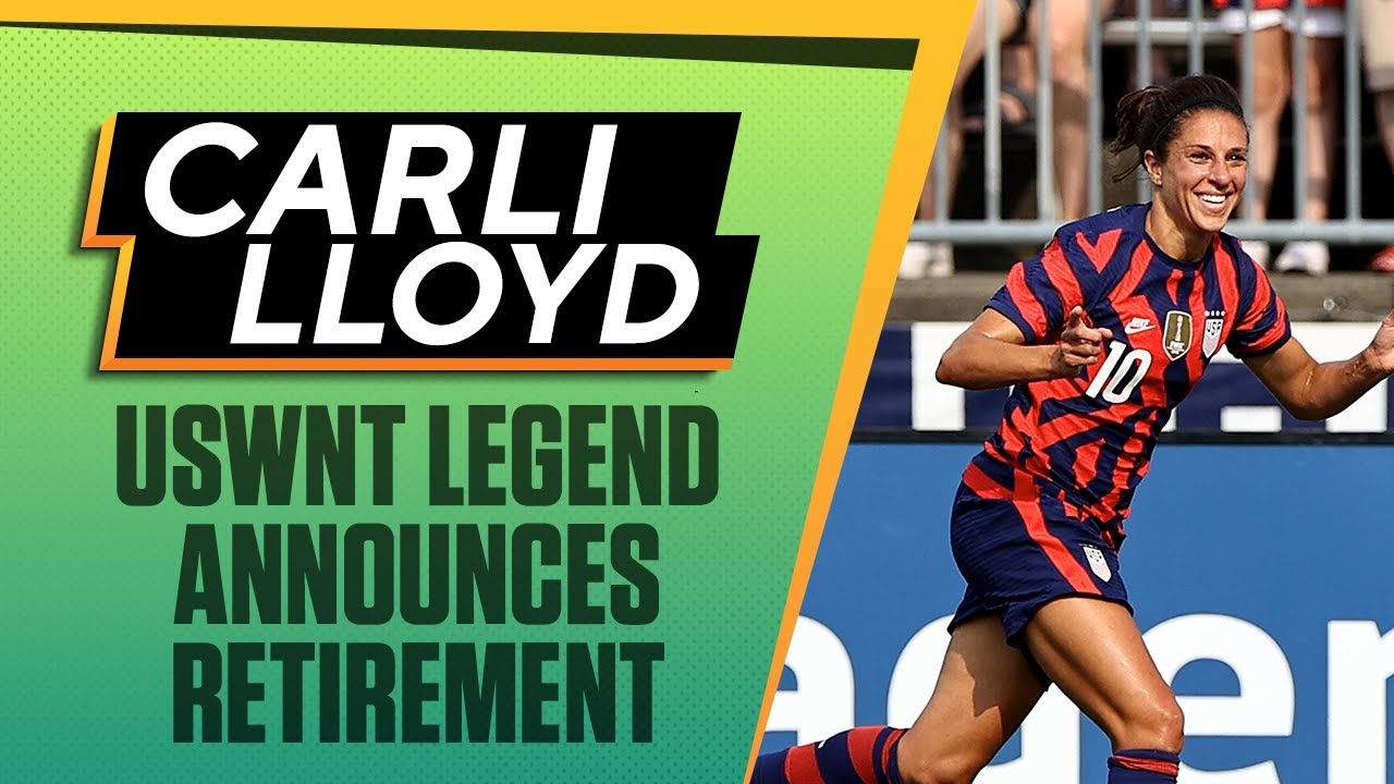USWNT star Carli Lloyd content as she announces she's retiring at ...